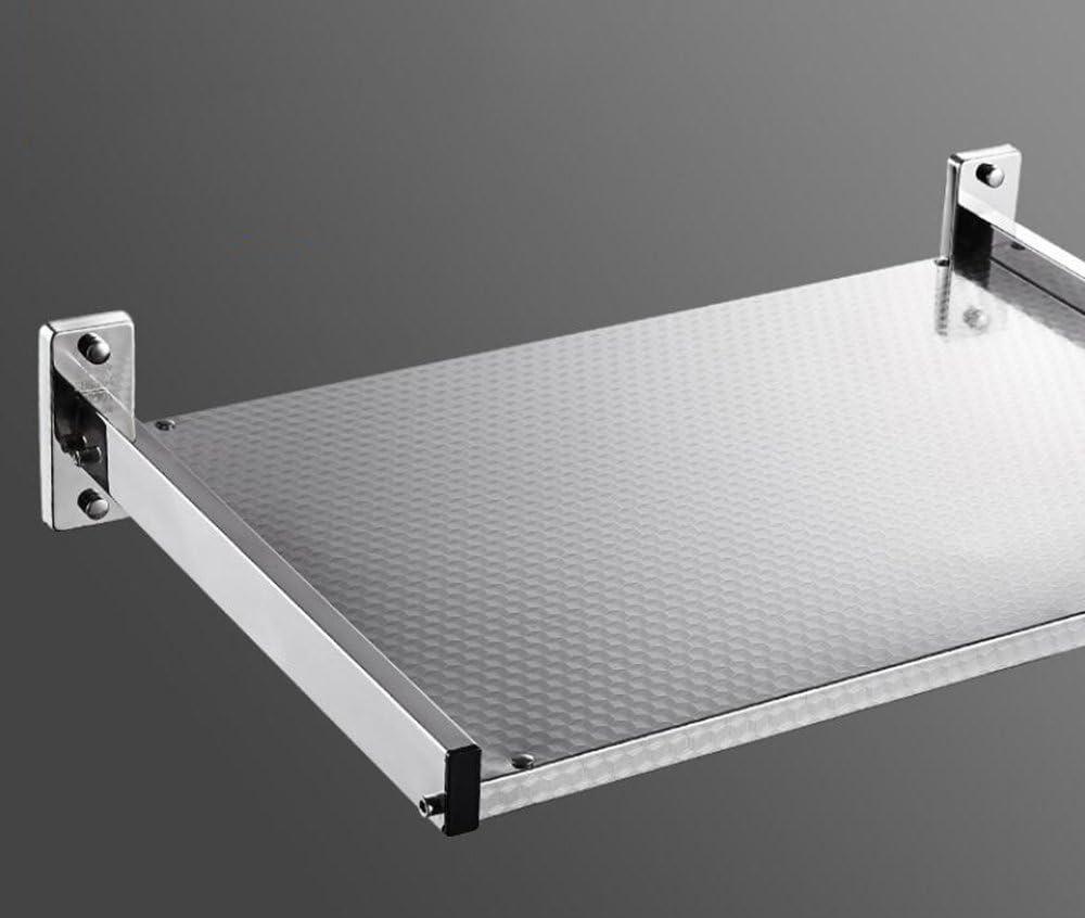 Shelf-MAIKA HOME 304 Edelstahl-Mikrowellenherd-Regal Wand-Einfassungs-K/üchen-Regal Art: A; Gr/ö/ße: 510x396x110mm mikrowelle Regal