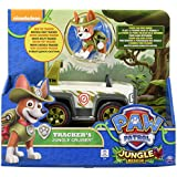 Paw Patrol, Jungle Rescue, Tracker's Jungle Cruiser, Vehicle and Figure