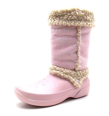 3a2f67ec5fac Crocs Nadia Damen Stiefel Snowboots Fellstiefel (41 42