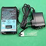 SUNDELY 2000mAh High Capacity Li-ion Battery Pack with Wall Charger (AC Adapter) for Kenwood Radio TH-K2AT TH-K2ET TH-K4AT PB-43 PB-43N