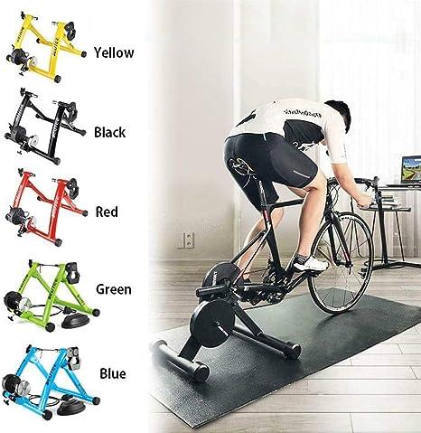 Turbo Trainer with Inertia Wheel, Foldable Indoor Bike