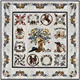 P3 Designs Baltimore Happy Trails BOM Applique Quilt Pattern Set