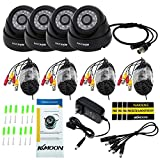 KKmoon 8 Channel NVR HD 960H / D1 Video Security System with 8-Piece 800TVL Bullet Cameras, 50ft IR LED Night Vision, IR-CUT Night View CCTV IP Cameras, Smartphone View Support, Plug it and Play it Review