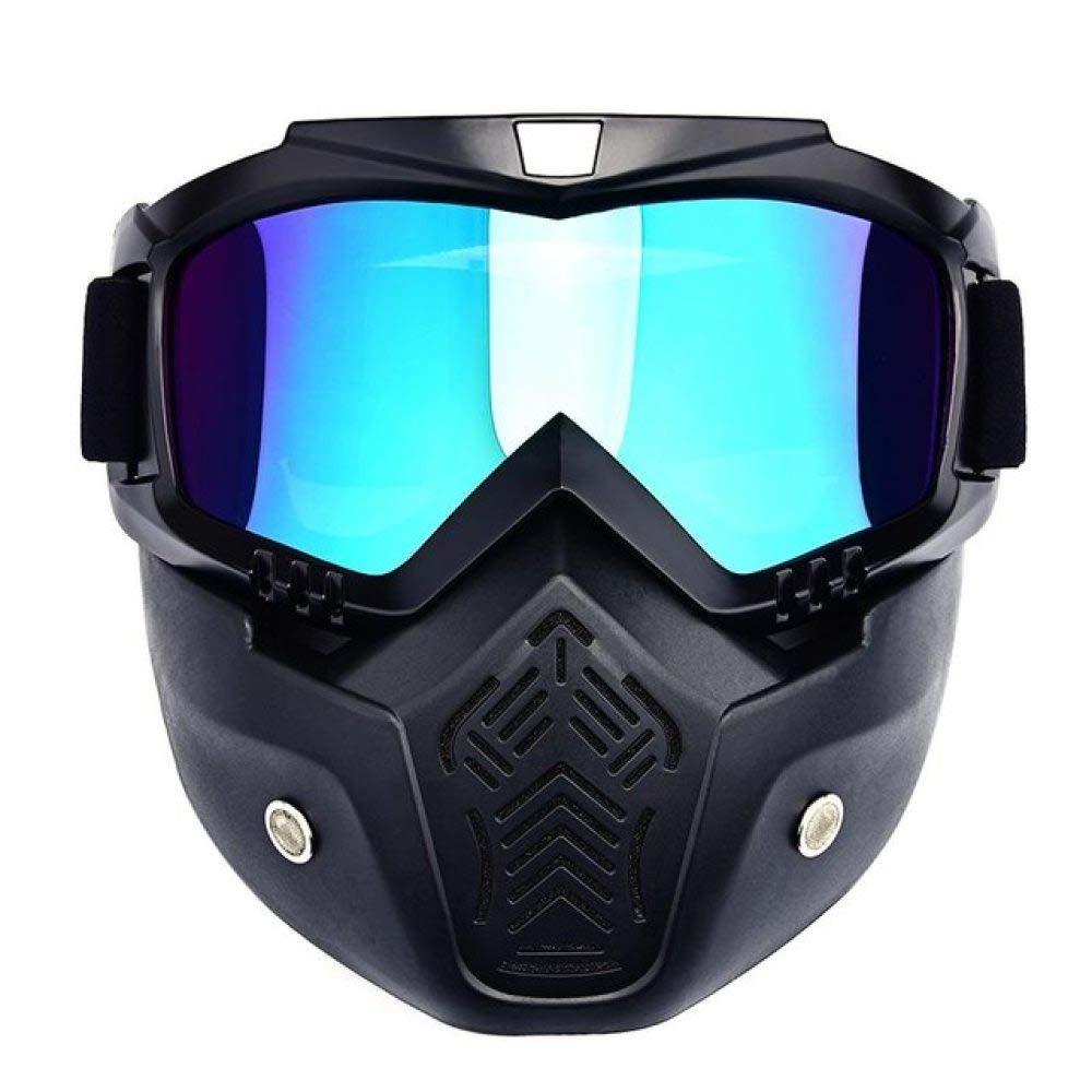 AXIANNV Hombres Mujeres Esquí Snowboard Mascarilla Gafas de esquí de Invierno Gafas de esquí a Prueba de Viento Gafas de Sol de Ciclismo de Motocicleta