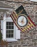 Brotherhood Navy Freedom Isn't Free Decorative House Flag