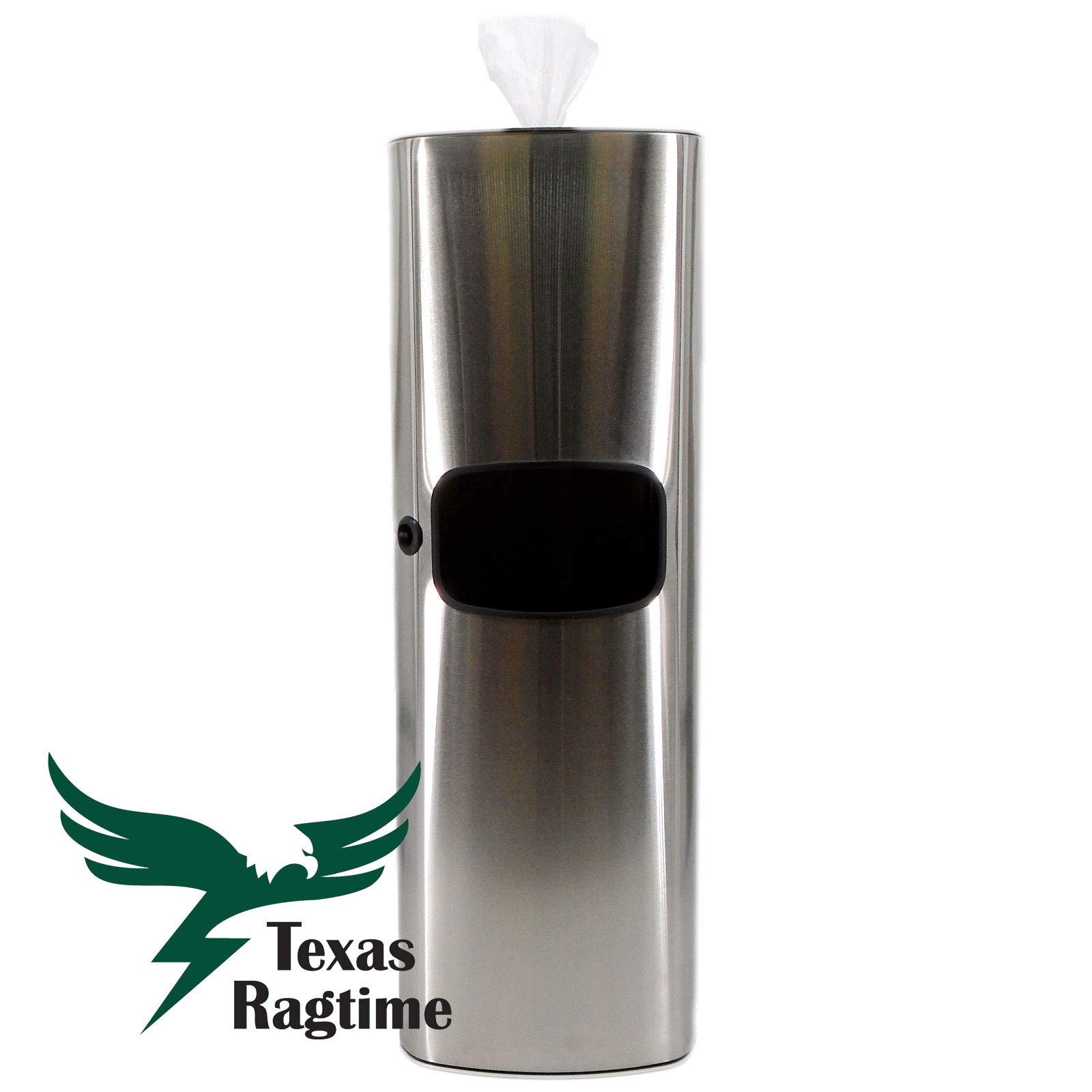 TEXAS RAGTIME Eagle Wipes New Gym Wipes Dispenser and Trash Can Set for Gyms, Offices, Hospitals, Schools, Restrooms Bundle with Eagle Wet Wipes Natural Gym Wipes 4 Rolls 5000 Sheets 1250/roll by TEXAS RAGTIME (Image #8)