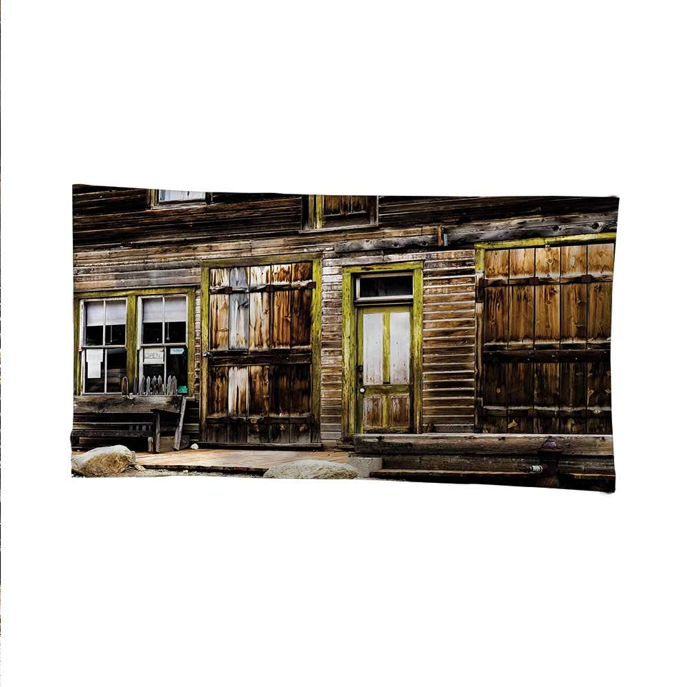 Rusticocean tapestrylarge tapestryWooden Planks and Rocks 84W x 54L Inch
