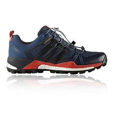 hot sale online 29cb0 553fd adidas Herren Terrex Skychaser GTX Trekking- Wanderhalbschuhe, Blau  (AzubasNegbas
