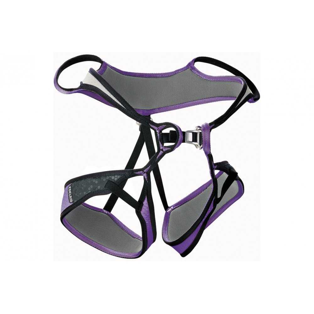 Arnés Edelrid Loopine gris/violeta para mujer (Tamaño: L): Amazon ...