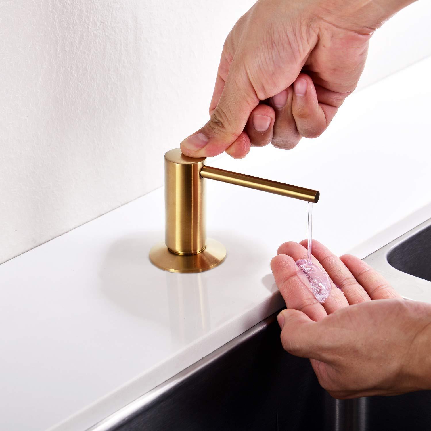 Amazon.com: Avola - Dispensador de jabón para fregadero de ...