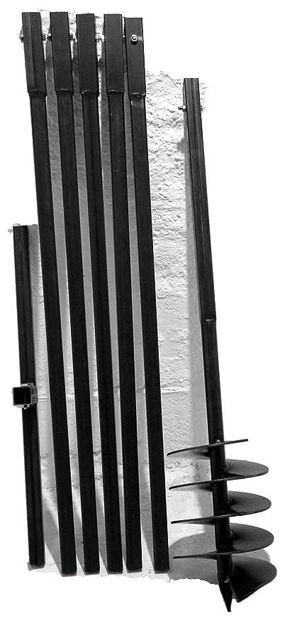 Erdbohrer Erdlochbohrer Brunnenbohrer Brunnenbohrgerät Handerdbohrer 200 mm