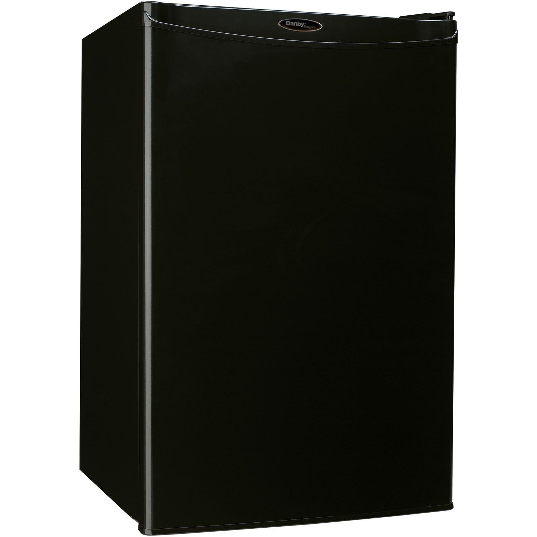 Danby DAR044A4BDD Compact All Refrigerator, 4.4 Cubic Feet, Black
