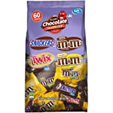 Snickers & Twix & M&M'S, Fun Size Chocolate Candy Bars 60 pieces, 33.9 oz