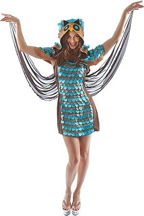 ORION COSTUMES Disfraz de Buho para Dama: Amazon.es: Ropa y accesorios