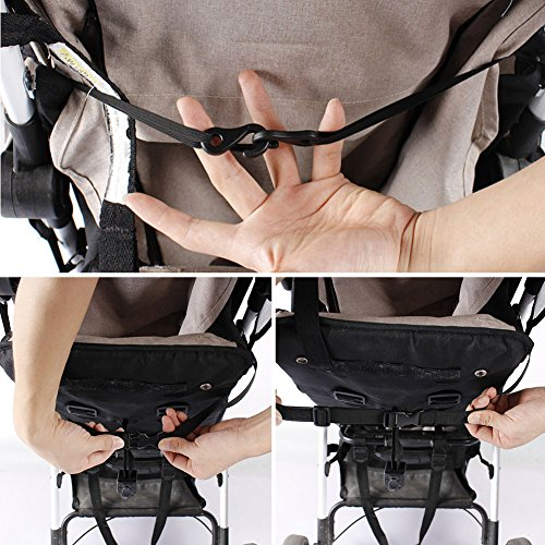 Sun Shade for Strollers WZTO Baby Car Seat Sun Shade Cover Soft, Breathable, Baby Stroller Canopy Air-Permeable and Universal Fit Strollers by WZTO (Image #6)