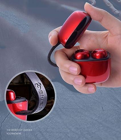 SUNLMG Auriculares Inalámbricos Bluetooth 5.0 Verdaderos Auriculares Inalámbricos Bajo Fuerte Ruido Anular El Sonido Estéreo Deportes