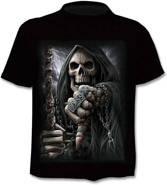 WMWK - Camiseta Unisex con Estampado 3D para Pareja ...