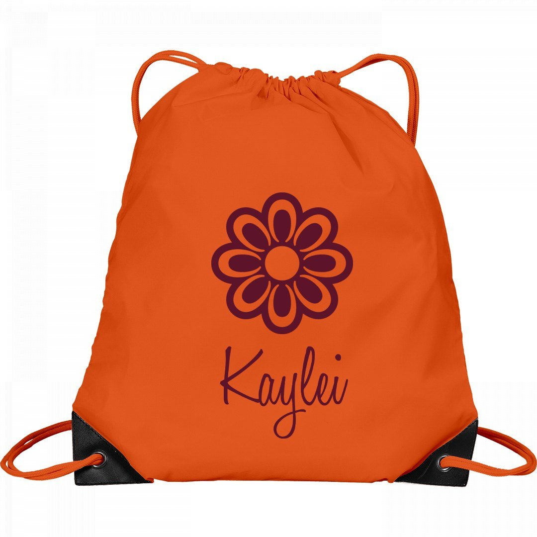 Flower Child Kaylei: Port & Company Drawstring Bag
