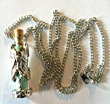 Enchanted Faery Star Dust Necklace Light Green Pixie Dust