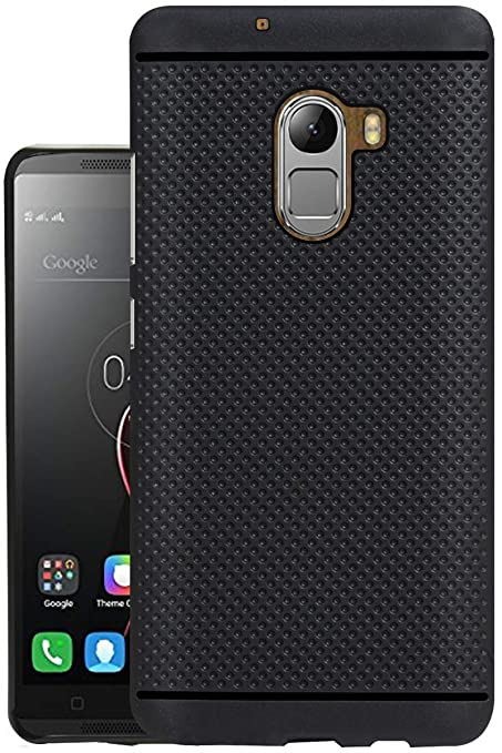 pretty nice 181d3 dce51 Jkobi® 360* Protection Dotted Designed Soft Rubberised Back Case Cover for  Lenovo Vibe K4 Note (Wooden Edition) -Black