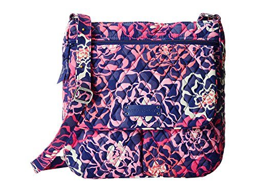 (Vera Bradley Women's Double Zip Mailbag Katalina Pink One Size)