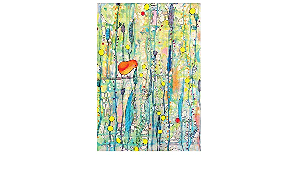 Amazon Com Mywonderfulwalls Abstract Bird On A Branch Art Wall Sticker Decal Grow Up By Sylvie Demers L Home Kitchen