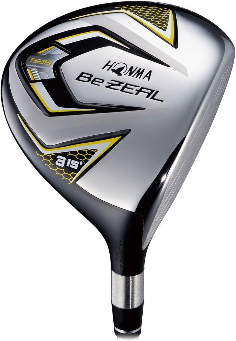 本間ゴルフ フェアウェイウッド Be ZEAL ビジール 525 フェアウェイウッド 3W(15度) VIZARD for Be ZEALシャフト フレックス:SR BZ525S15 右 ロフト角:15度 番手:3W
