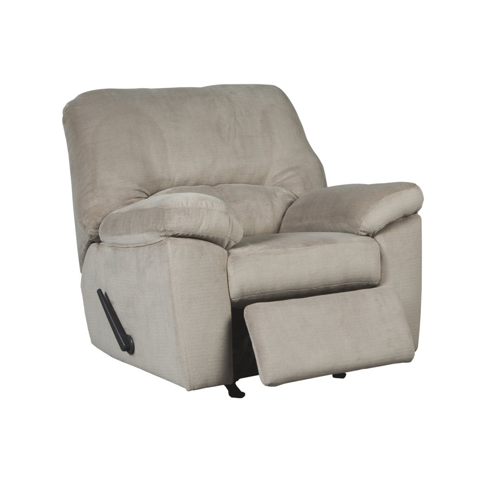 Amazon com ashley furniture signature design dailey rocker recliner contemporary chair alloy beige kitchen dining