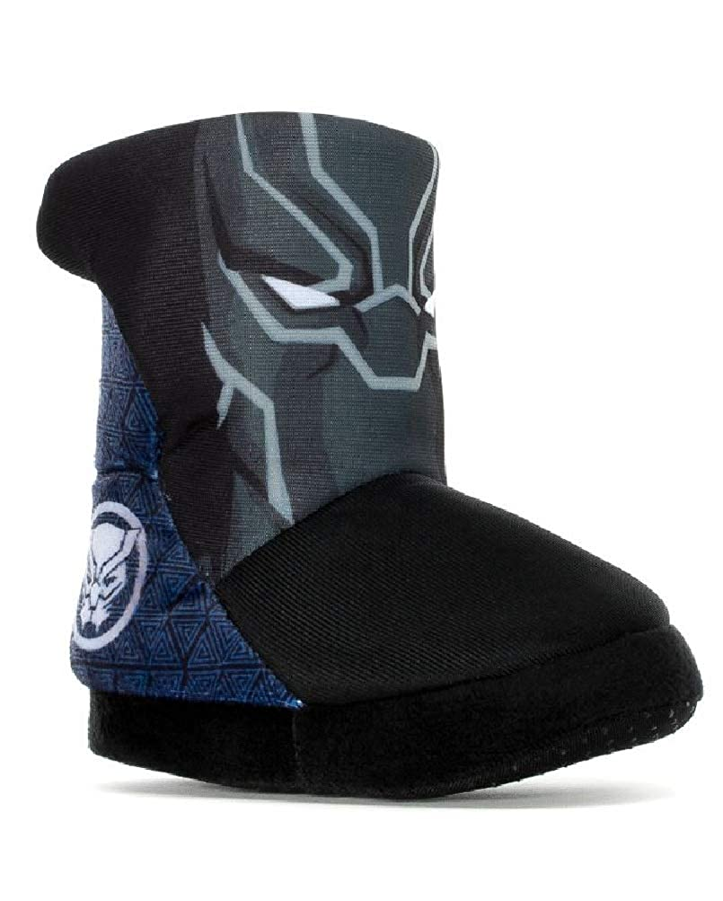 Toddler Boys Marvel Black Panther Bootie Slippers