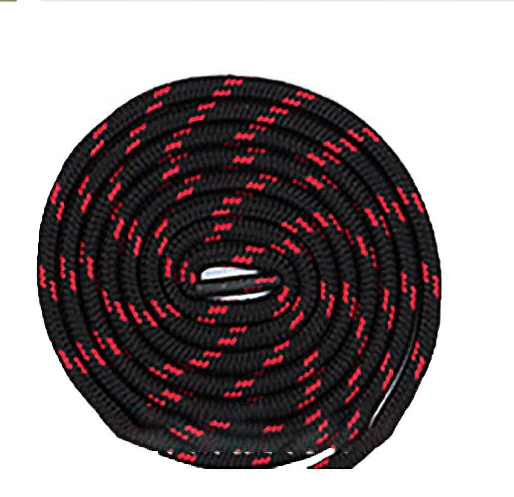 Boowhol 1 Paire de Lacets Ronds largeur 4.5 MM résistant à l'usure différentes couleurs et longueurs Idéal pour les Sports XD012 fr