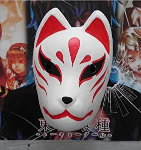Mascara de baile Máscara de cara completa pintada a mano, máscara ...