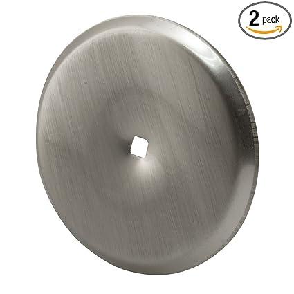 Merveilleux Prime Line Products U 10420 Cabinet Knob Back Plate, Satin Nickel,(Pack