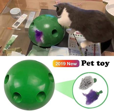 Juguete de plumas para gatos N Play, juguete para gatos, ABS ...