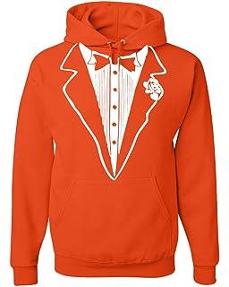 Tuxedo Funny Hoodie Tux Bachelor Party Wedding Groom Sweatshirt