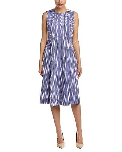 Anne Klein Womens A-Line Dress, 14, Purple