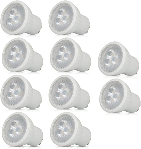 Dimmable MR16 3W LED spotlight pure white 35W halogen equivalent standard size