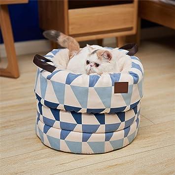 Wuwenw Kenneldetachable Sueño Profundo Mascota Nido Gatito Housecat Camada Casa del Gato