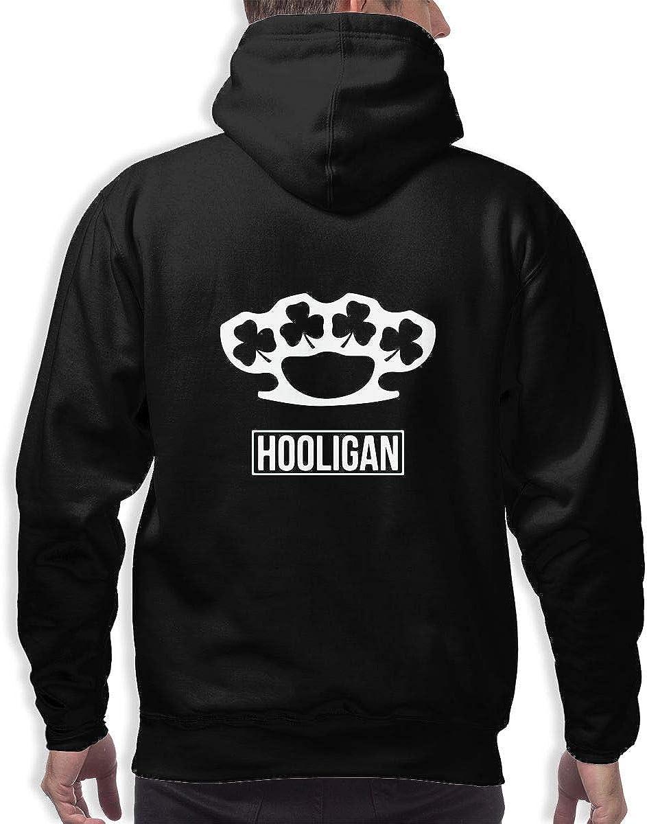 TB92ed/&CW Irish Hooligan 1 Mens Hooded Sweatshirts Pullovers Long Sleeve Tops