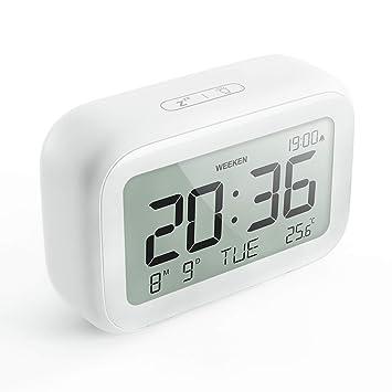 Amazon.com: HAPTIME Reloj despertador digital con estilo ...