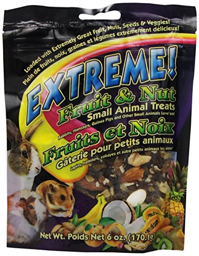 Fruit Extreme (F.M.Brown'S 44497 Extreme Fruit And Nut Small Animal Treat, 6-Ounce)