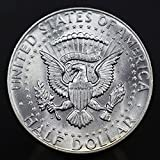 1964 U.S. Kennedy 90% Silver Half Dollar Coin, Mint State Condition