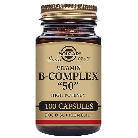 Solgar B Complex 50-100 Cápsulas