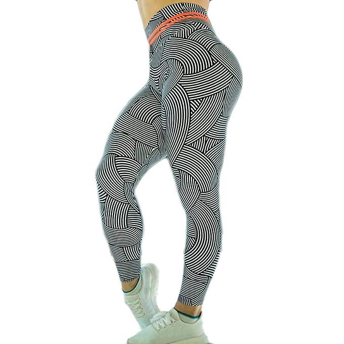 Keepwin Mujer Pantalon de Yoga con Elastico y Transpirable ...