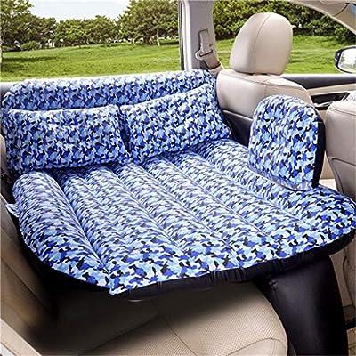 ... colchón de Aire Inflable para Auto Asiento Trasero de automóviles SuvS y Camiones de tamaño Mediano Viaje al Aire Libre Camping Universal (Tela Oxford)