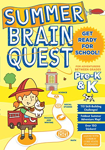 Summer Brain Quest: Between Grades Pre-K & K (A Color Of His Own Lesson Plan)