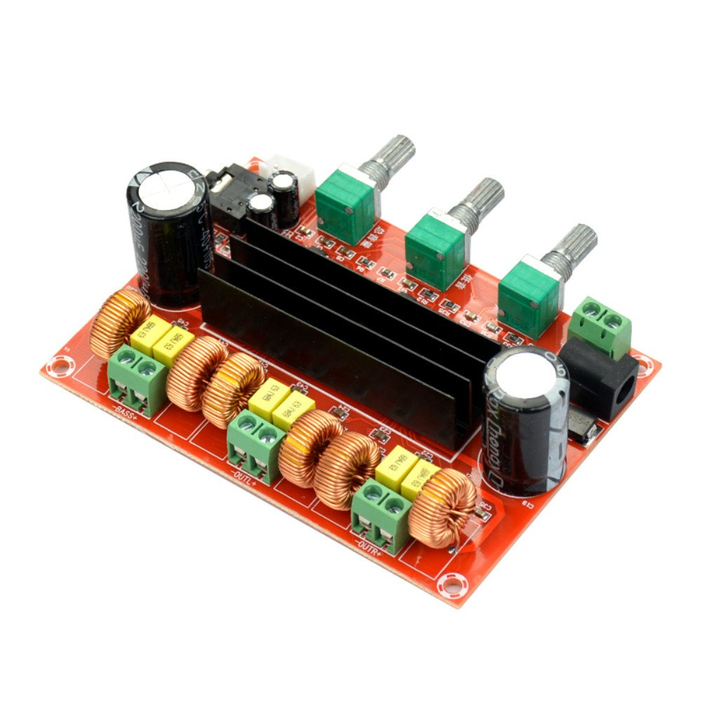 Aoshike Dc12v 24v 21 Digital Audio Amplifier Board Ne5532 Preamplifier Circuit Diagrams Tpa3116d2 Subwoofer Speaker Amplifiers Car Stereo Amp Module For System Diy