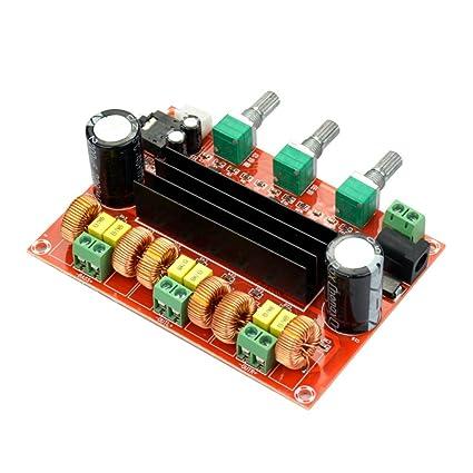 AIYIMA 2.1 Amplificador de Audio Digital TPA3116D2 Subwoofer Altavoz Amplificadores Coche Estéreo AMP Módulo para Sistema