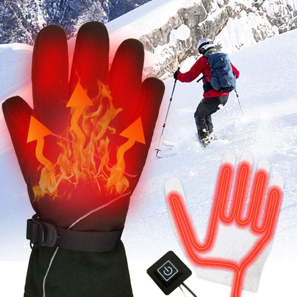 Cuffslee hoja de calor de 3 velocidades para manualidades Termostato USB con tres velocidades y almohadilla de calefacci/ón el/éctrica para guantes de cinco dedos guantes de cinco dedos