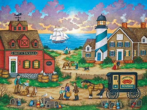 MasterPieces Heartland The Days End Jigsaw Puzzle by Bonnie White, 550-Piece