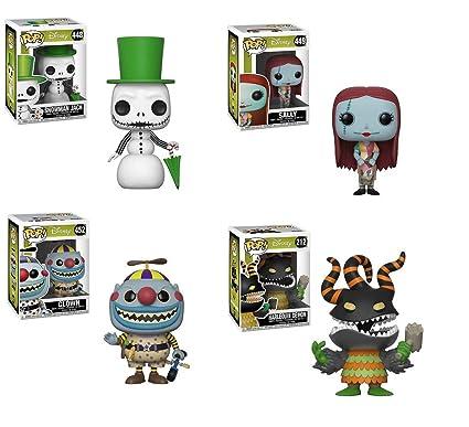 Nightmare Before Christmas Clown.Amazon Com Np Nightmare Before Christmas Snowman Jack